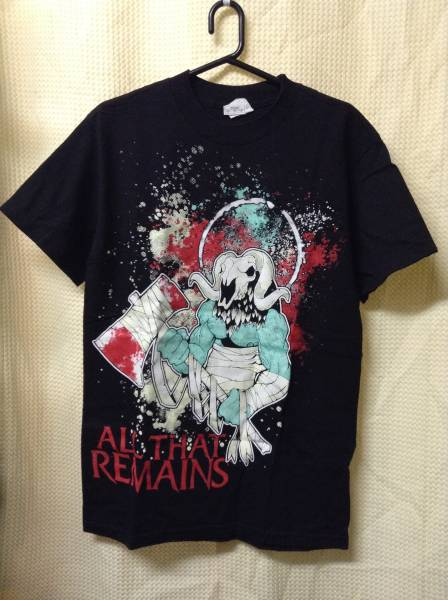 11 バンドTシャツ オールザットリメインズ ALL THAT REMAINS (S)