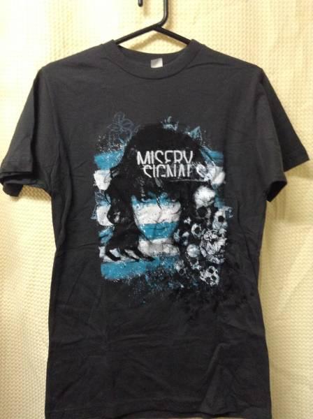 11 バンドTシャツ ミザリーシグナルズ メタルコア (YL)