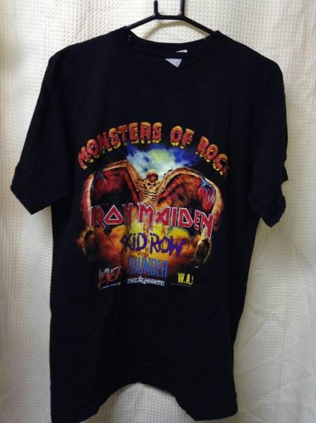 11 バンドTシャツ モンスターズオブロック 1992 メイデン (M)