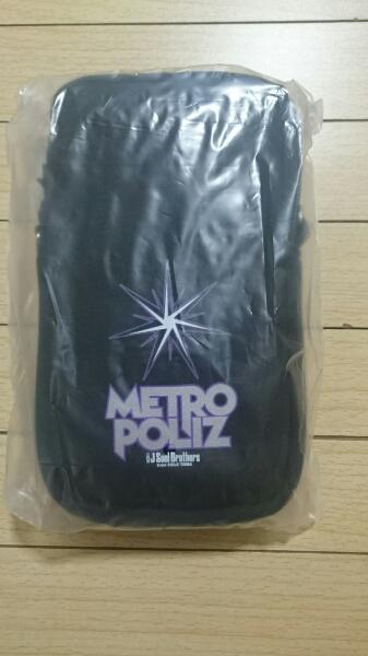 三代目J Soul Brothers METRO POLIZ オリジナルマルチポーチ