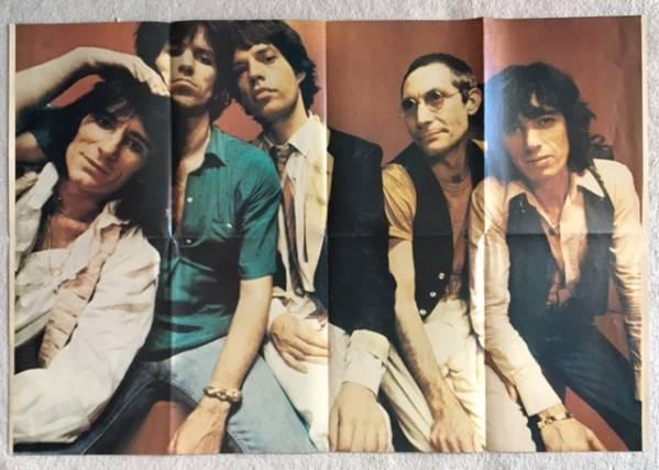 The Rolling Stones& Mick Jagger ポスター 80年代
