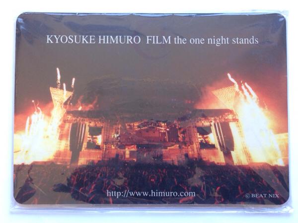 【希少】氷室京介 FILM the one night stand マウスパッド1998~