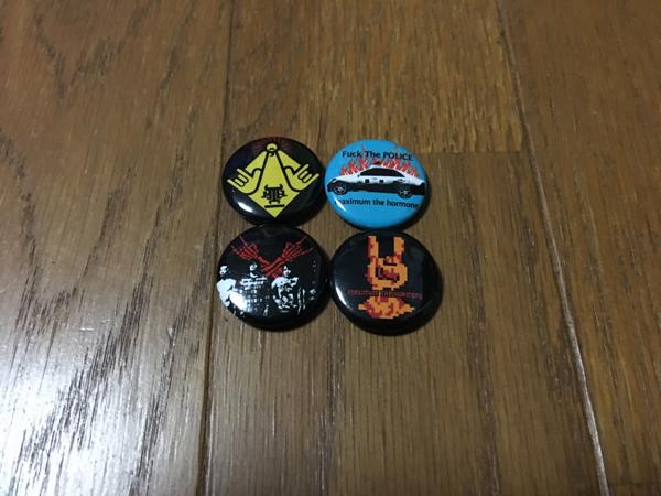 マキシマム ザ ホルモン 缶バッジ セット 3 ライブグッズの画像