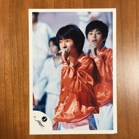 即決¥1500★嵐 公式写真 2198★相葉雅紀 初期 Jr.時代 Jロゴ