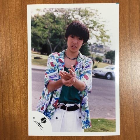 即決¥2000★嵐 公式写真 2201★相葉雅紀 初期 Jr.時代 Jロゴ