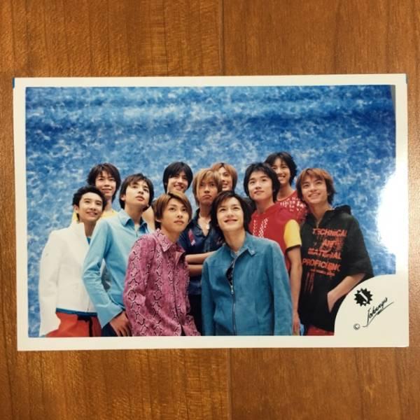 即決¥1000★公式写真 2186★生田斗真 風間 山下 Jr.時代 Jロゴ