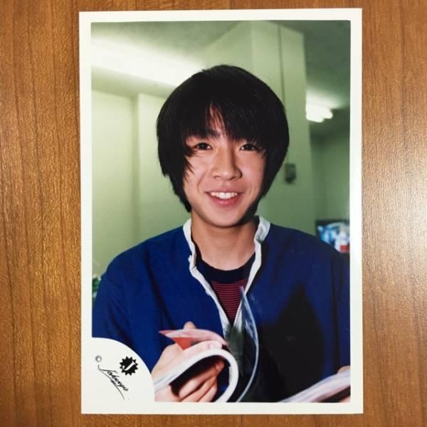 即決¥2000★嵐 公式写真 2199★相葉雅紀 初期 Jr.時代 Jロゴ