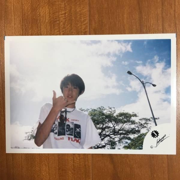 即決¥1500★嵐 公式写真 2207★相葉雅紀 初期 Jr.時代 Jロゴ