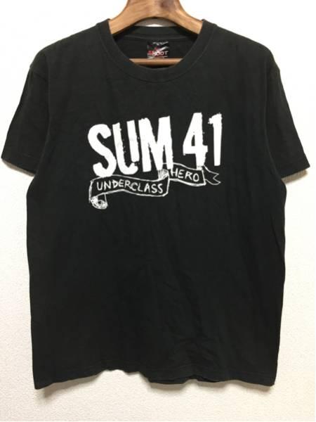 [即決古着]SUM41/サム41/UNDERCLASS HERO/バンドTシャツ/黒/M