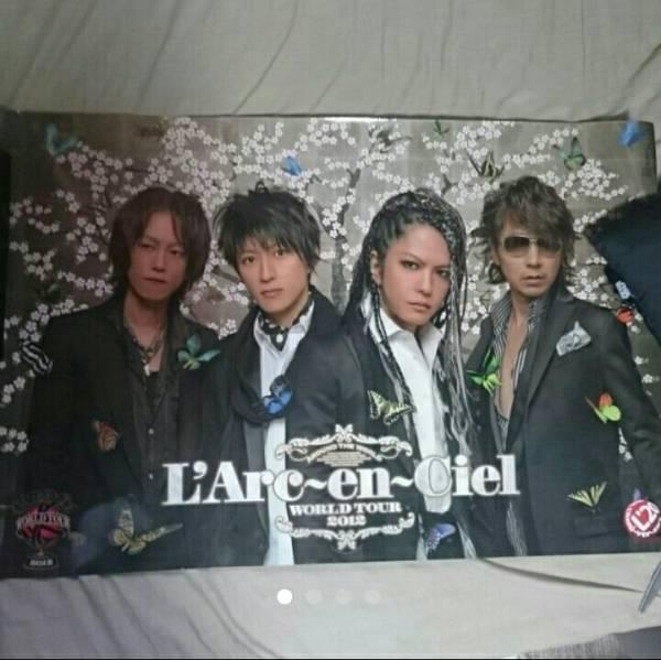 ■L'Arc~en~Ciel WORLD TOUR 2012 公式ポスター ラルク 中古美品