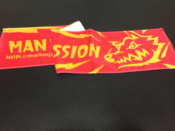 MAN WITH A MISSION ロゴタオル 武道館限定カラー 美品