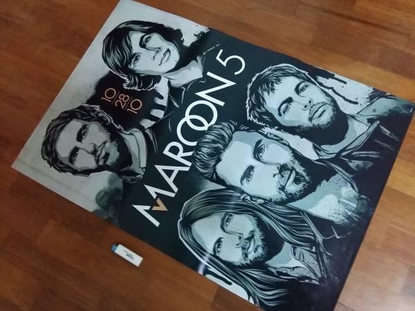 送料290●89cmポスター Maroon5 マルーン5 バンド アメリカ USA
