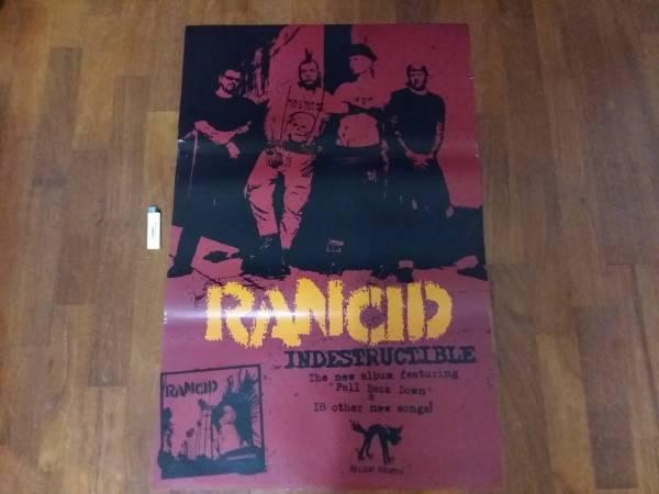 送料290●89cmポスター RANCID ランシド パンクa PUNK バンド