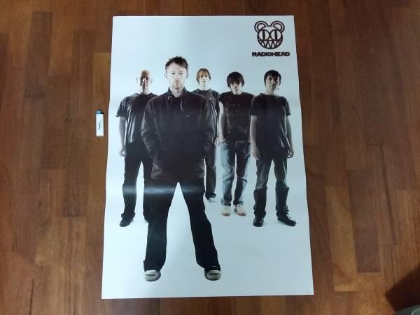 送料290●89cmポスター レディオヘッド Radiohead ロックバンドa