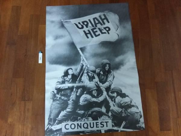 送290●新品 89cm ポスター ユーライアヒープ Uriah Heep ロック