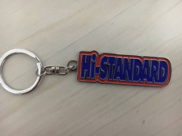新品Hi-STANDARDキーホルダーハイスタンダード air jamTシャツ