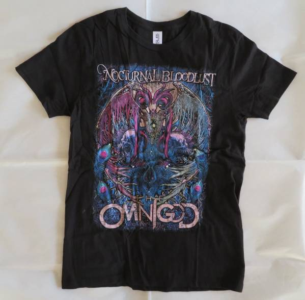 【NOCTURNAL BLOODLUST】Tシャツ Ssize THE OMNIGOD