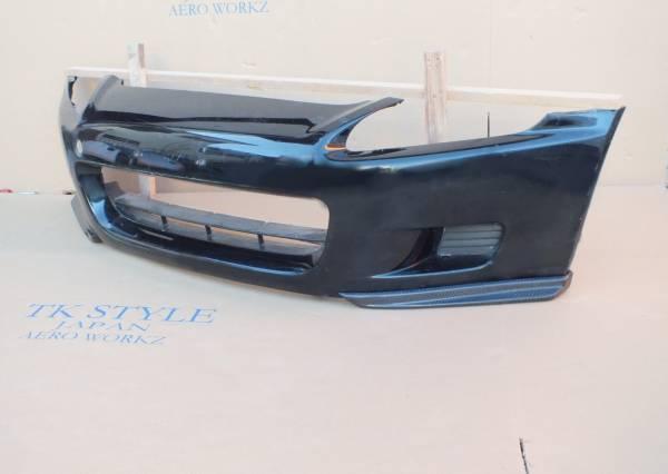 新品 S2000 AP1 前期 カーボンフロントスポイラーFS 左右セット リップスポイラー エアロワークス_画像1