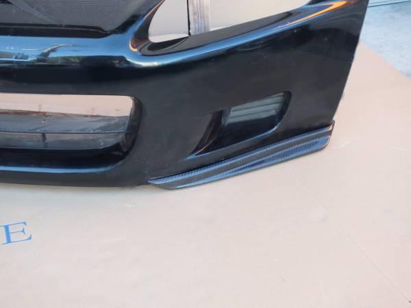 新品 S2000 AP1 前期 カーボンフロントスポイラーFS 左右セット リップスポイラー エアロワークス_画像2