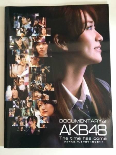 AKB48 DOCUMENTARY OF AKB48 映画パンフレット・第4弾 ライブ・総選挙グッズの画像
