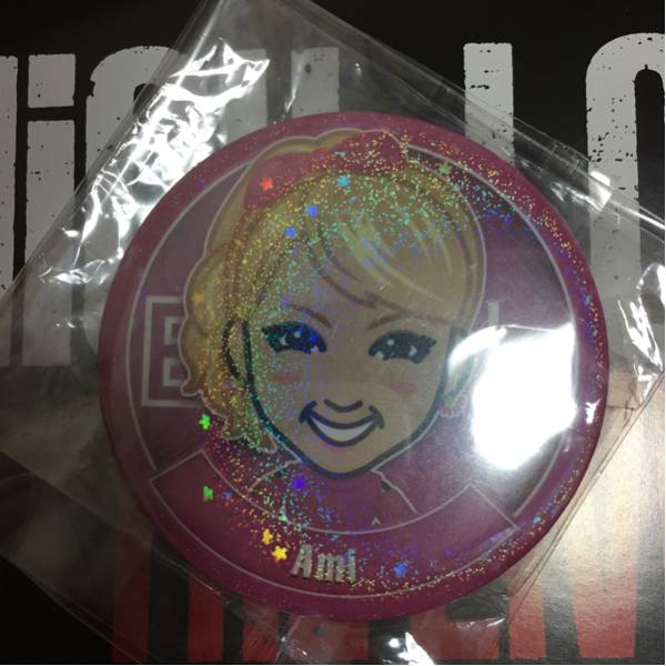 HiGH&LOW THE LIVE E-girls Dream Ami デカ缶バッジ