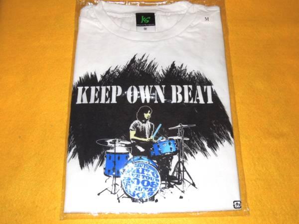 斉藤和義 Tシャツ KEEP OWN BEAT LIVE TOUR 2008 UTAUTAI 15 ライブグッズの画像