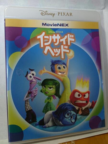 MovieNex インサイドヘッド ブルーレイ&DVD 中古品 美品 ディズニーグッズの画像
