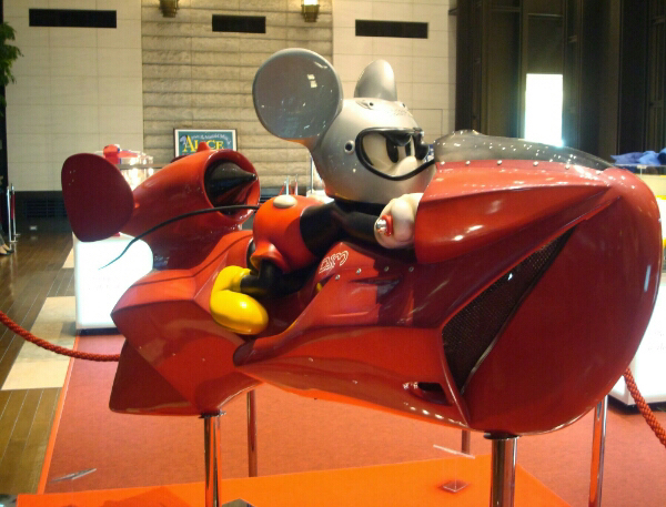 D23 ■ミッキー オブジェ■ 世界に1つ 等身大 ディズニー ディズニー公式購入証明書付 ナカムラテツヤ