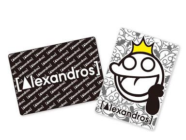 Alexandros フリースブランケット 全2種セット