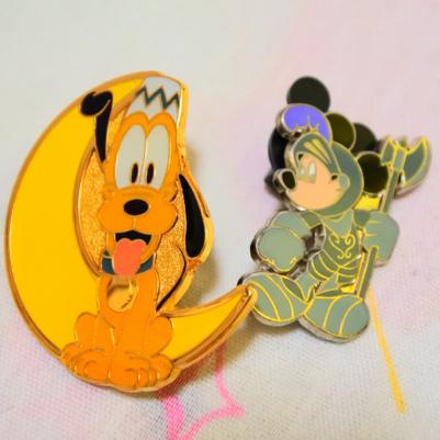 ★非売品★ディズニーピンズ★プルート★ミッキー ディズニーグッズの画像