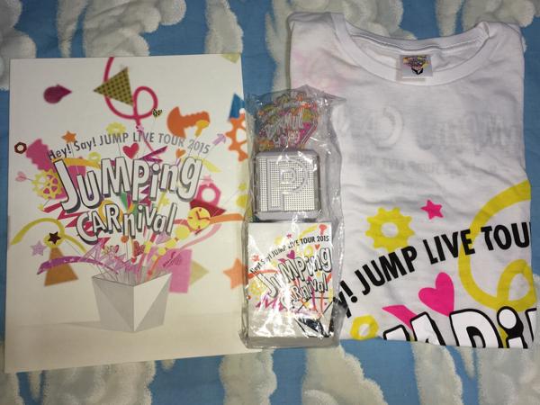 Hey!Sey!JUMPツアーグッズTシャツパンフ+ペンライト2015