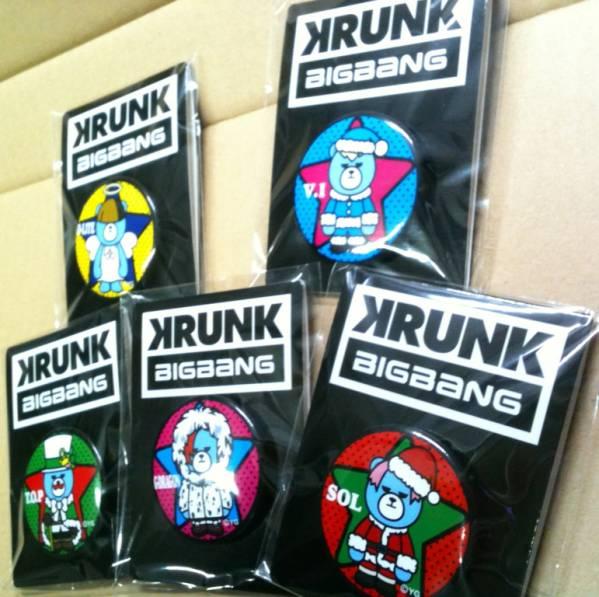 ローソン BIG BANG 缶バッチ 全5種