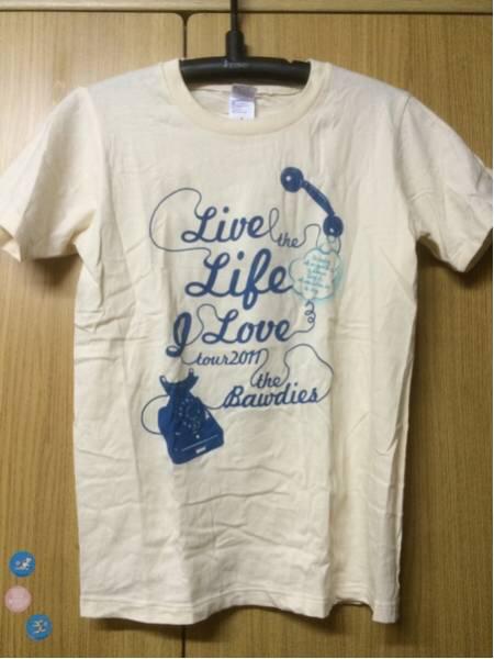 THE BAWDIES ワンマンツアー 2011 Tシャツ ライブグッズの画像