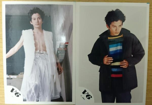★V6・岡田准一・公式写真・2枚セット★