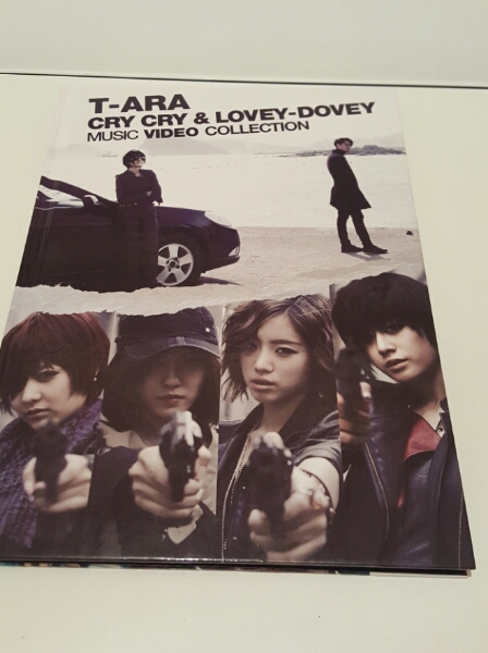 T-ARA cry cry & lovey-dovey ライブグッズの画像