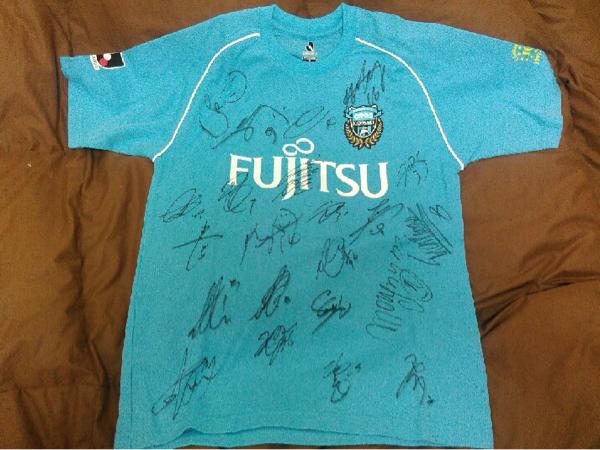 【チームサイン】 川崎フロンターレ 10周年プロコンシャツ