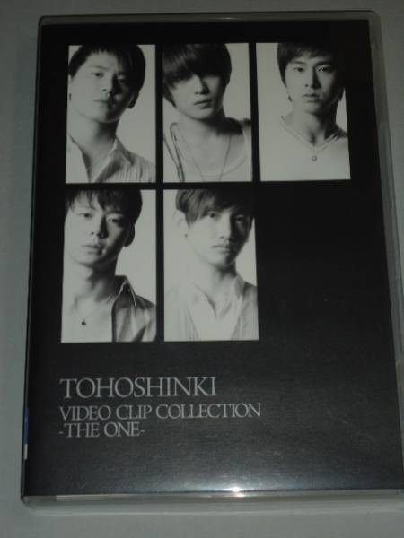 【DVD】東方神起 VIDEO CLIP COLLECTION -THE ONE- 通常盤  JYJ