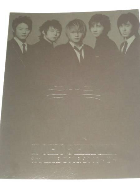 【ツアーパンフ】東方神起 3rd LIVE TOUR 2008  T   ユンホ チャンミン ジェジュン ユチョン ジュンス