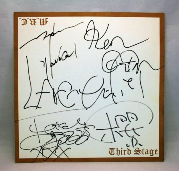 L'Arc~en~Ciel ラルク 初期メンバーサイン色紙 CD予約特典