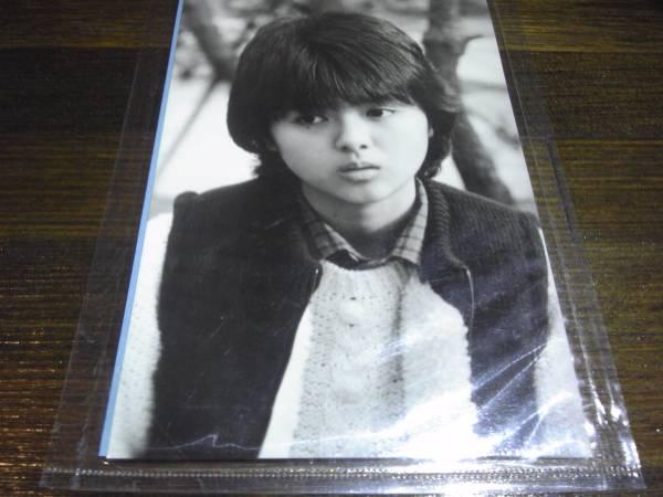 薬師丸ひろ子/貴重!未開封!ブロマイド写真2/三田寛子'80アイドル