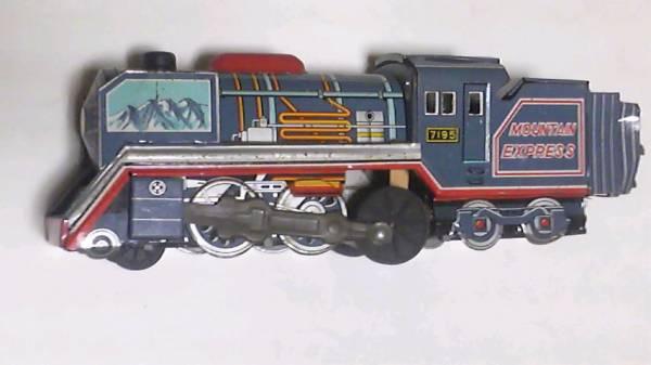 昭和レトロ 汽車のブリキおもちゃ_画像1