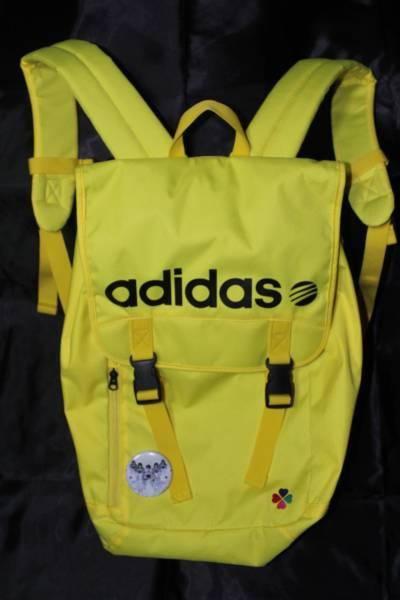 アディダス ももクロ adidas neo リュック 黄色イエロー美品