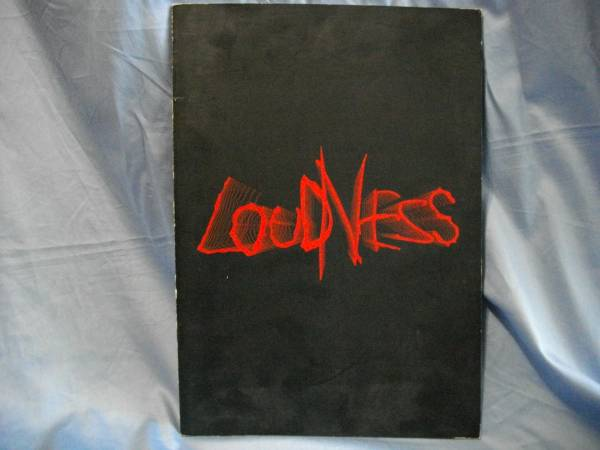 ラウドネス LOUDNESS 20th Anniversary Tour パンフ