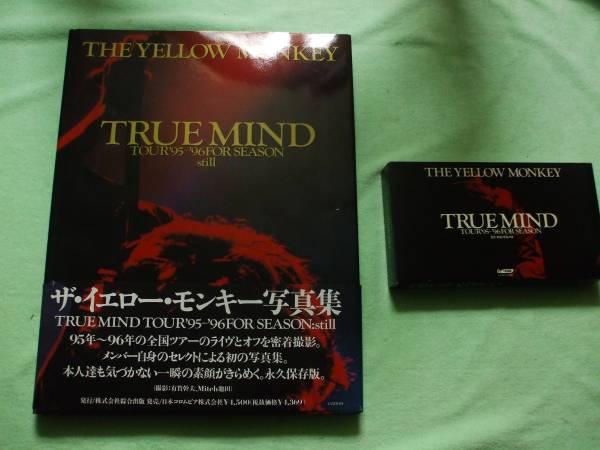 ザ イエロー モンキー 写真集+ビデオ【TRUE MIND TOUR95-96】