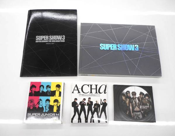 スーパージュニア/SUPER JUNIOR CD 写真集などセット ライブグッズの画像