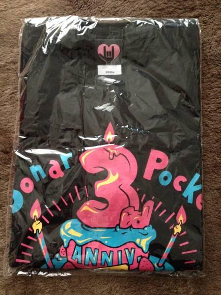 ソナーポケット 三周年記念Tシャツ Sサイズ 新品未使用 ライブグッズの画像