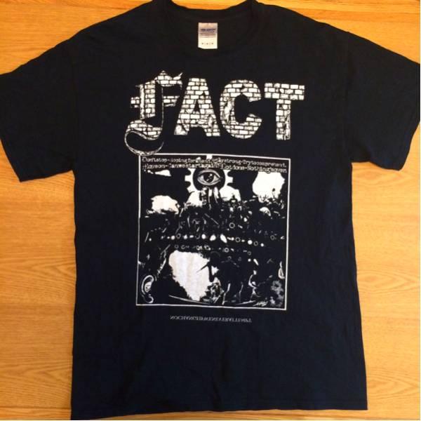 FACT KTHEAT Tシャツ ブラック サイズM
