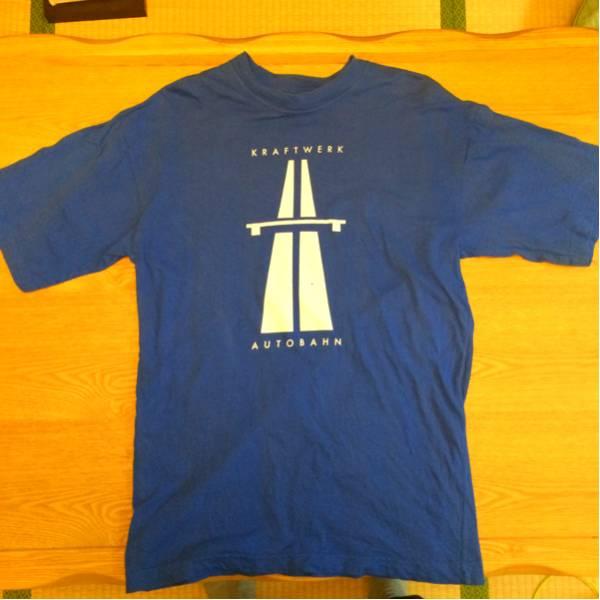 KRAFTWERK クラフトワーク AUTOBAHN Tシャツ ブルー サイズL