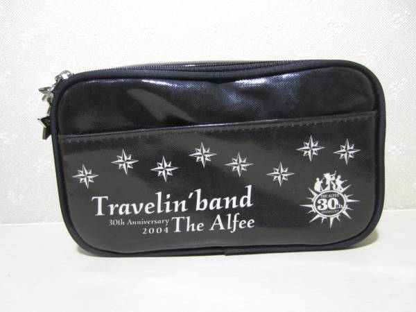 THE ALFEE ポーチ Travelin' band 30th Anniversary 2004