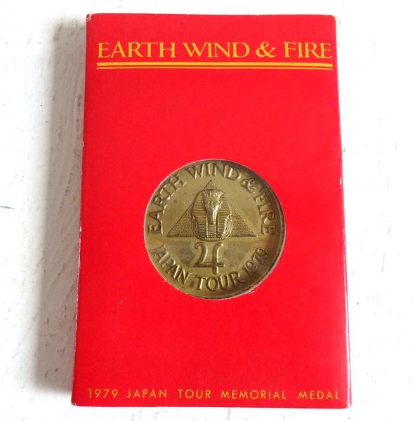 EARTH WIND & FIRE 1979 来日ツアー 記念メダル